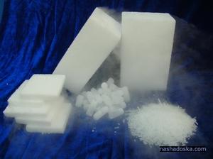 Сделать сухой лед