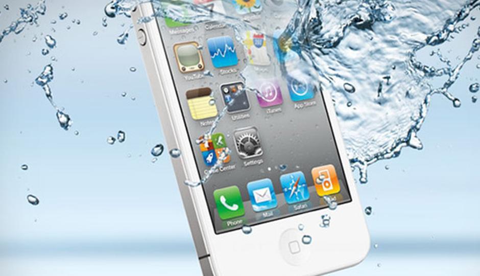 Вода попала под сенсорный экран
