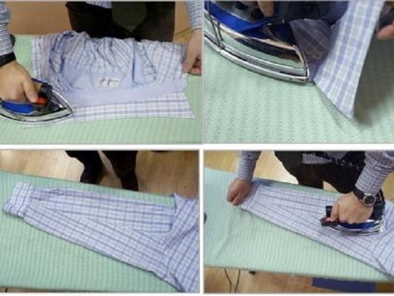 ebc2f6839f69fd1 ... правильно гладить рубашку Чем гладить сорочку Как отутюжить сорочку  Особенности глажки сорочки