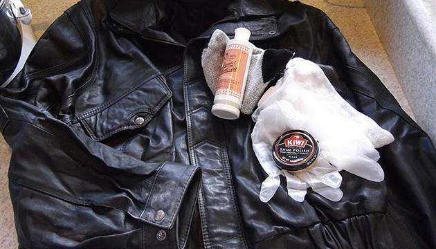 Как отчистить от загрязнений кожаную одежду?