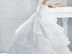 Крахмаление платья