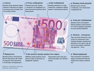 Настоящие 500 евро