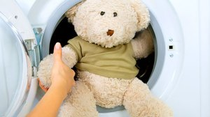 Игрушка в стиральной машине