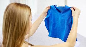 Как растянуть севший свитер