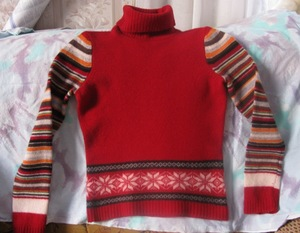 Почему свитер после стирки сел