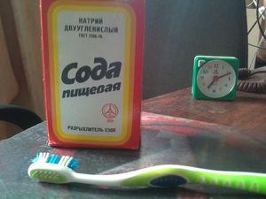 Как чистить зубы содой