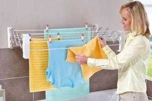 Как сушить одежду в квартире