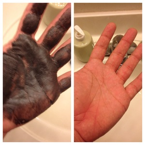 Способ отмыть руки от краски для волос