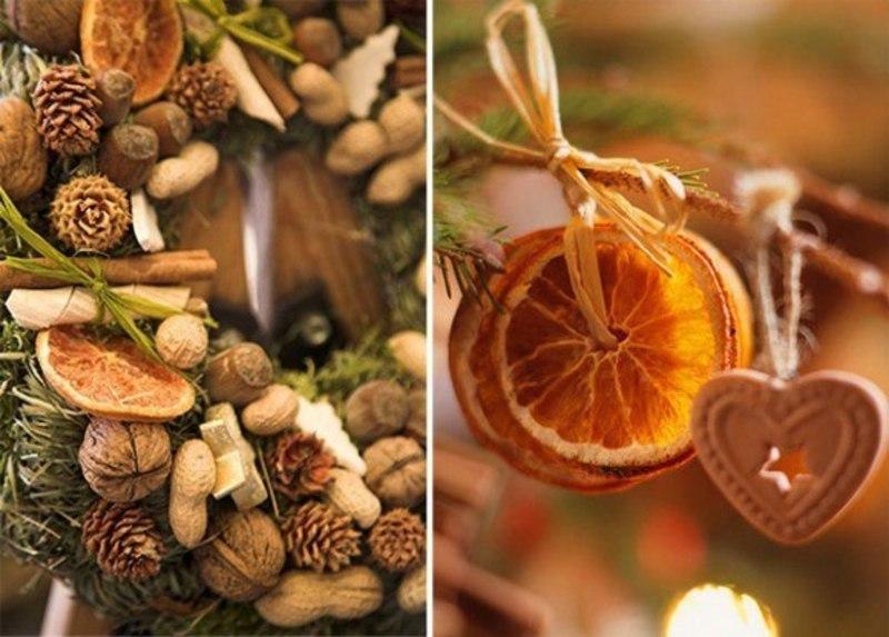 Как засушить апельсин для декора