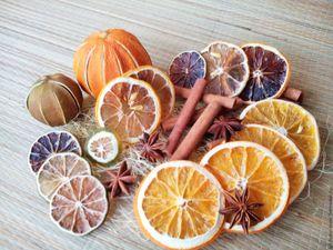 Способы сушки апельсина