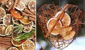 Как делать декор из сушенных фруктов