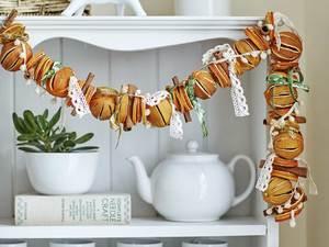 Сушка фруктов для декора