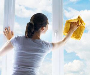 Видео о правильном мытье окон.