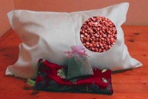 Подушка с наполнителем из лузги