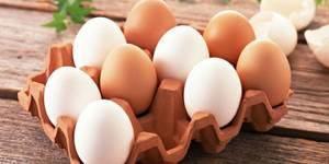 Хранение яиц в холодильнике и без
