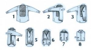 Техника хранения сорочек