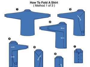 Глаженные сорочки и способы их хранения