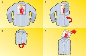 Как хранить сорочки в сложенном состоянии