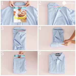 Способ укладки сорочки