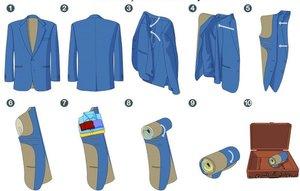 Особенности складывания сорочки