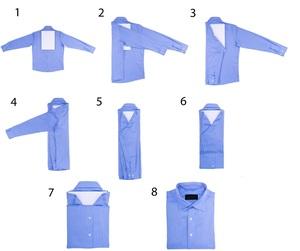 Методы складывания сорочек