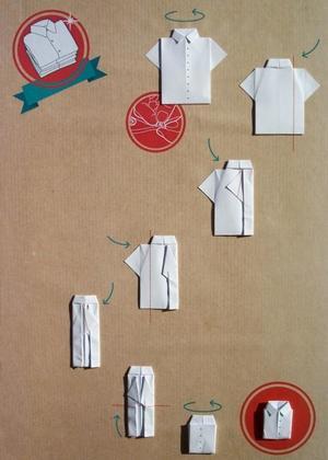 Как научиться складывать рубашки