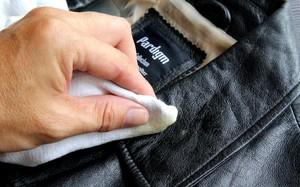 Как чистить воротник кожаной куртки