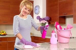 Правила поддержания чистоты на кухне