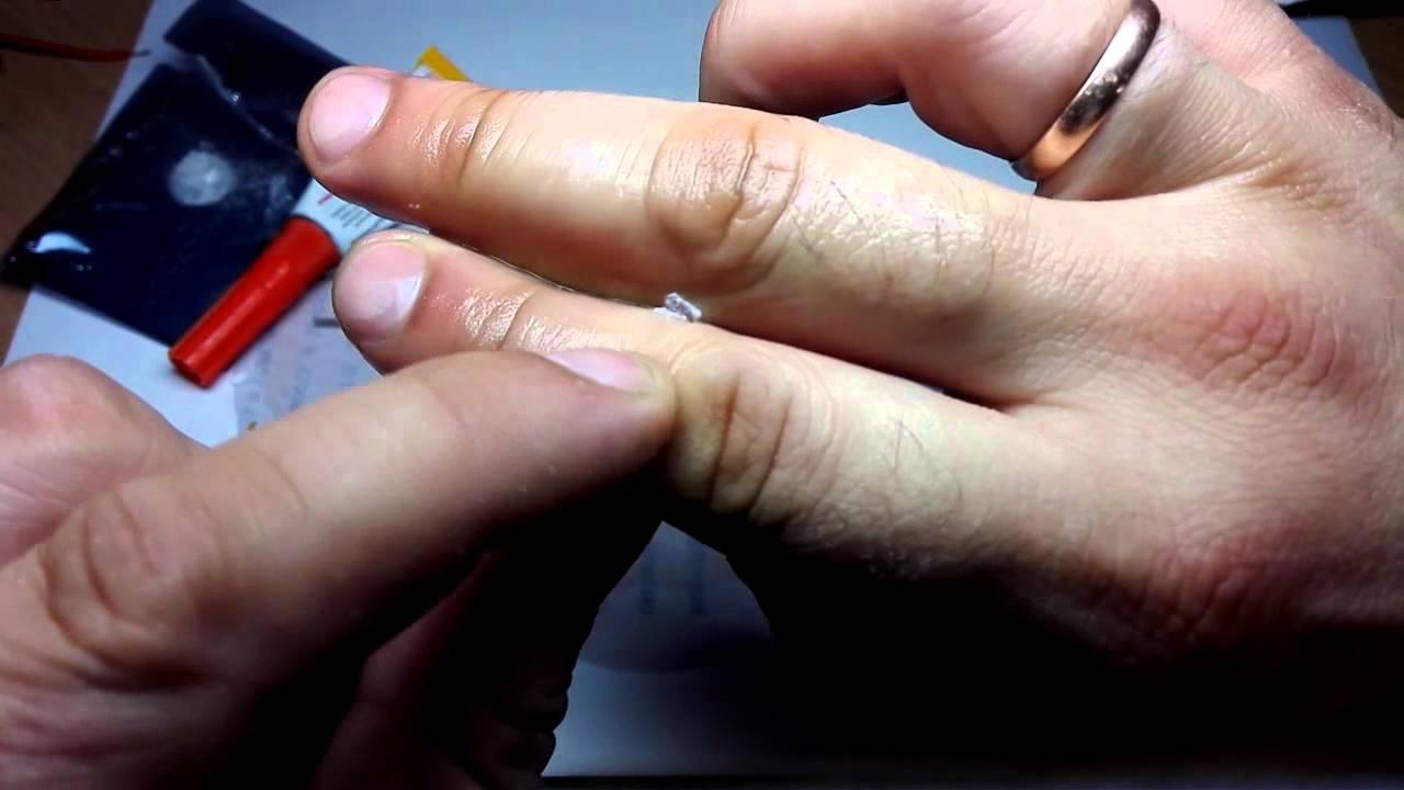 Как удалить клей с рук в домашних условиях 660