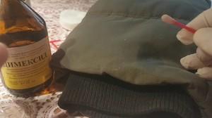 Как очистить пену с одежды