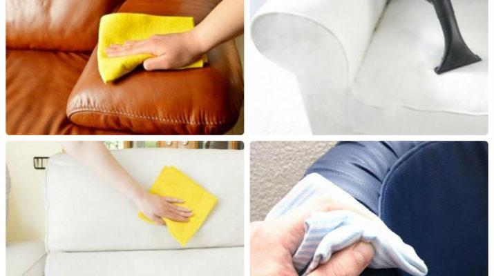 Чем в домашних условиях очистить диван от грязи 697