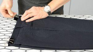 Этапы глажки брюк