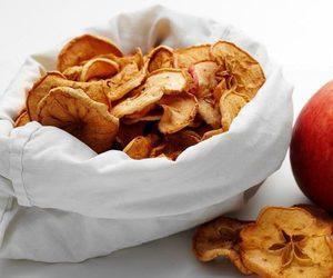 Яблоко сушеное.