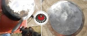 Прокаливание алюминиевой сковороды