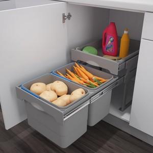 Хранение картофеля под мойкой