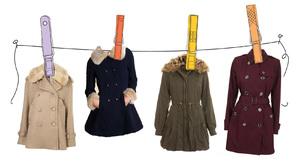 Особенности чистки пальто