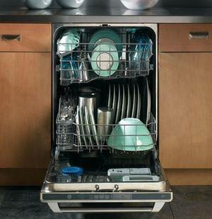 Как загружать в посудомоечную машину крупную посуду